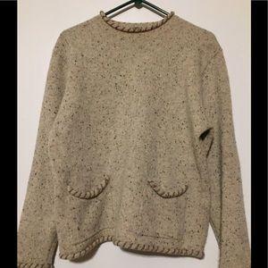 Woolrich Women's Cardigan Sweater Large Wool
